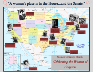"""A woman's place is in the House…and the Senate."""