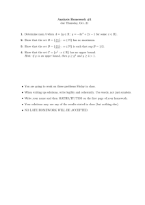 Analysis Homework #1 1. 2. 3.