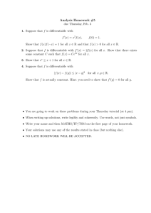 Analysis Homework #5 1. 2. 3.