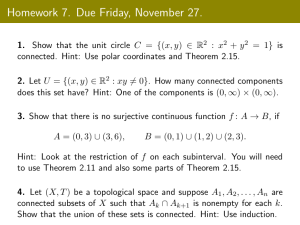Homework 7. Due Friday, November 27.