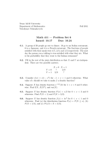 Math 411 — Problem Set 6 Issued: 10.17 Due: 10.24