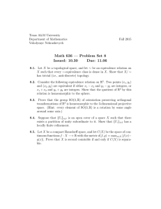 Math 636 — Problem Set 8 Issued: 10.30 Due: 11.06