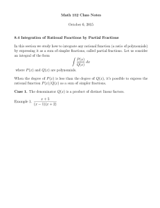 Math 152 Class Notes October 6, 2015