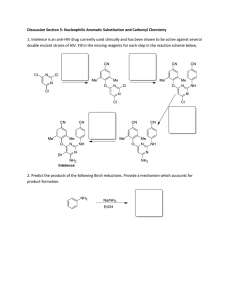 Discussion Section 5: Nucleophilic Aromatic Substitution and Carbonyl Chemistry