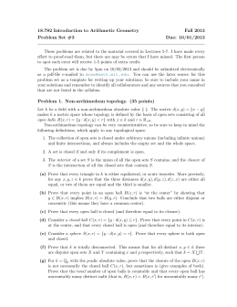 18.782 Introduction to Arithmetic Geometry Fall 2013 Problem Set #3 Due: 10/01/2013