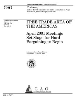 an essay of the free trade area of the americas Comparative advantage-relative marginal opportunity cost 1 (free trade area of the americas) superior essay papers.