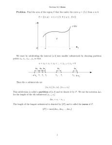 Section 6.2 Area Problem.