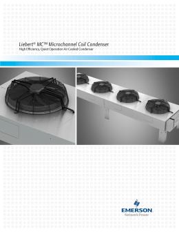 liebert air cooled fin tube condensers technical data manual\u201350 Industrial Training Rooms Diagrams liebert mc™ microchannel coil condenser high efficiency, quiet operation air cooled condenser �