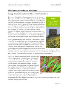 USDA Forest Service Botany in the News