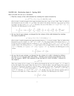 Pingry...Geometry Final Exam Review Worksheet