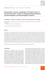Revised Upper Cenozoic stratigraphy of the Dutch sector of