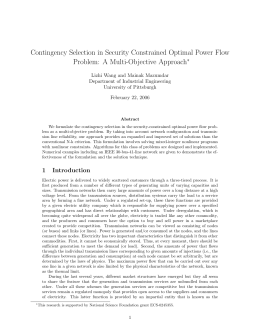 Contingency Selection in Security Constrained Optimal Power Flow