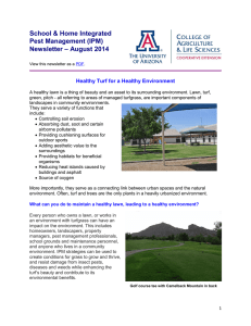 School & Home Integrated Pest Management (IPM) – August 2014