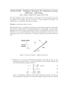 18.354/12.207 – Nonlinear Dynamics II: Continuum systems Mid-term - take home.