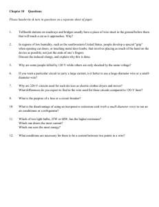 Chapter 10 Questions: