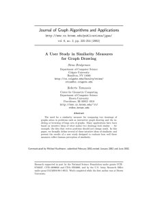 Journal of Graph Algorithms and Applications for Graph Drawing
