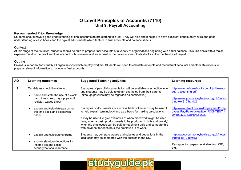 Payroll Accounting Pdf
