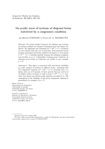On p-adic zeros of systems of diagonal forms