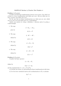 MATH 317 Section A, Practice Test Number 4 Problem 1.(25 points)