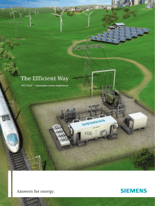 The Efficient Way Answers for energy. SVC PLUS – Innovation meets experience