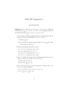 Math 220 Assignment 4 Due October 9th