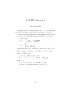Math 220 Assignment 4 Due October 16th
