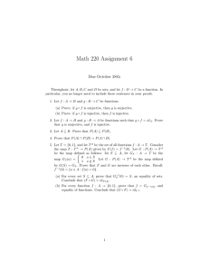 Math 220 Assignment 6 Due October 28th