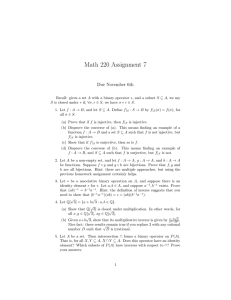 Math 220 Assignment 7 Due November 6th