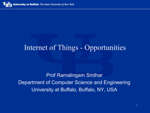 Internet of Things - Opportunities