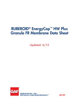 Bituthene Summary Nuplex Construction Products