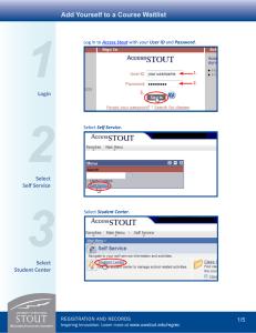 WebAdvisor Registration Tutorial