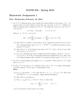 MATH 656 - Spring 2016 Homework Assignment 1