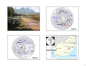 Wine Appreciation from Grapes to Glass, Lecture 9: Southern Hemisphere I: