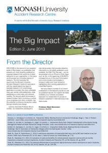 The Big Impact From the Director Edition 2, June 2013
