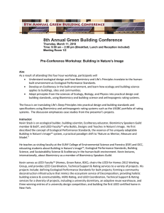 8th Annual Green Building Conference
