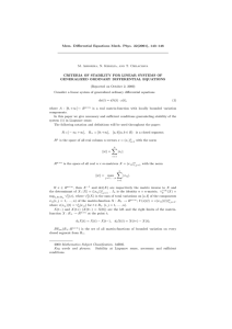 Mem. Differential Equations Math. Phys. 22(2001), 143–146