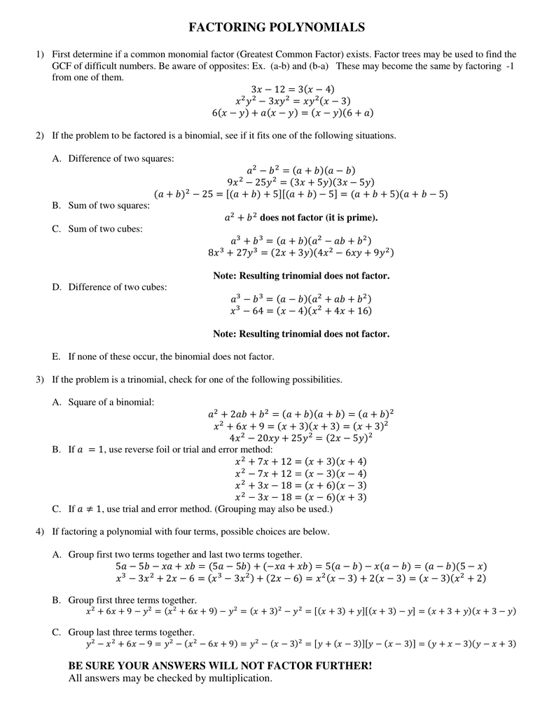 9 2 Multiplying And Factoring Answers