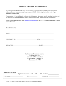 ACCOUNT CLOSURE REQUEST FORM