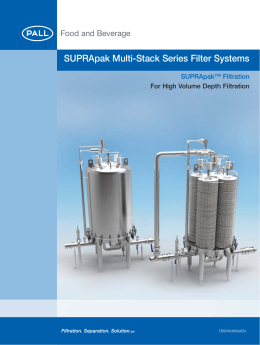 Zefluor Elements Bottom Load Design With Gore Tube Filters