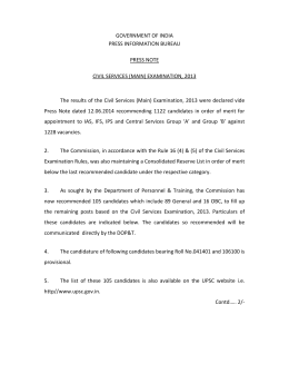 GOVERNMENT OF INDIA  PRESS INFORMATION BUREAU    PRESS NOTE