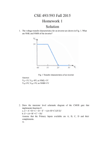 CSE 493/593 Fall 2015 Homework 1 Solution