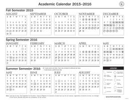 Vertex42 Calendar Template - Charlottesville City Schools