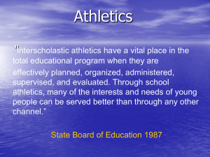 Athletics ""