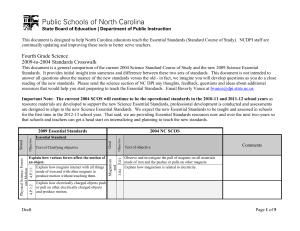 This document is designed to help North Carolina educators teach...