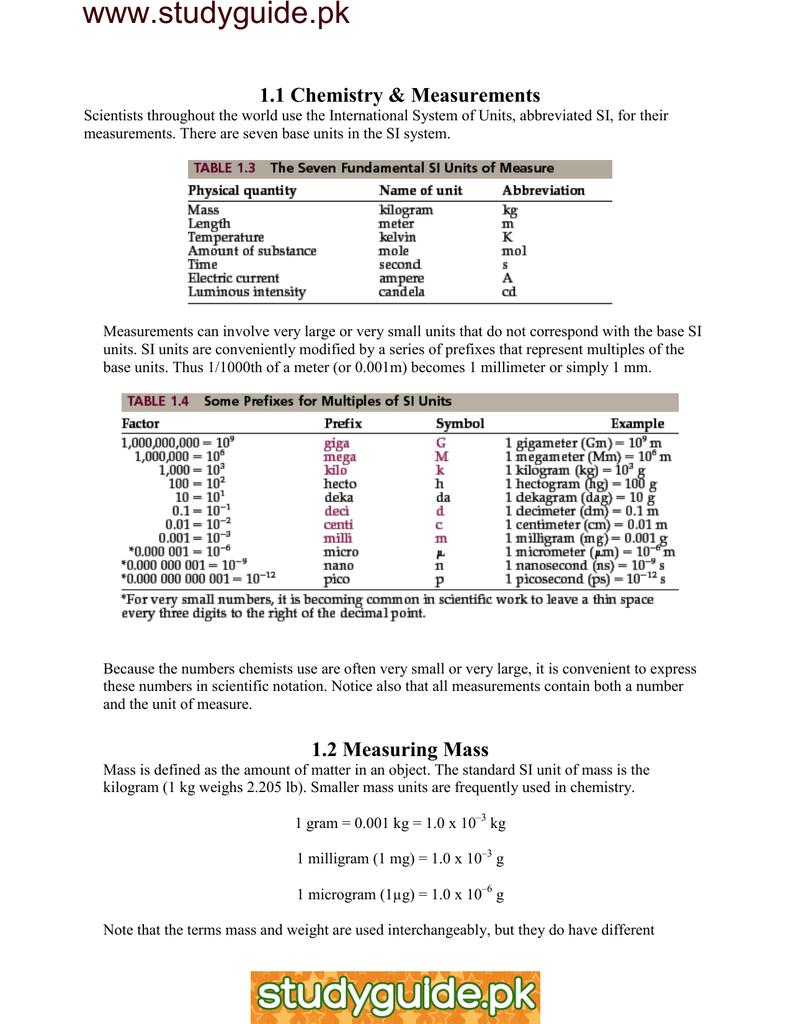 www studyguide pk 1 1 Chemistry &
