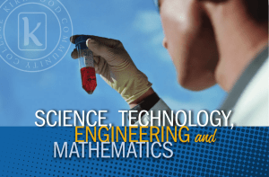 and SCIENCE, TECHNOLOGY, ENGINEERING MATHEMATICS