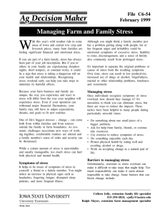 W Managing Farm and Family Stress File  C6-54 February 1999