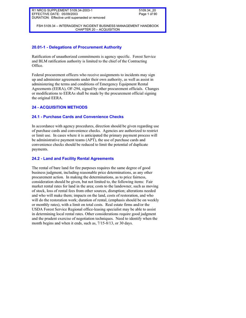 R1 NRCG SUPPLEMENT 5109 34-2003-1 5109 34_20 EFFECTIVE DATE