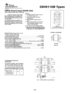 Data sheet acquired from Harris Semiconductor SCHS022