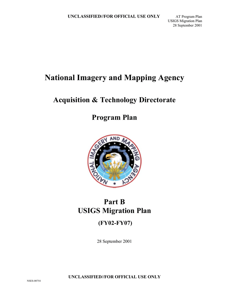 Technology Management Image: National Imagery And Mapping Agency Acquisition